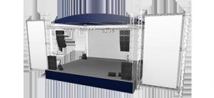 Maquinaria escénica, Dardarak, servicios audiovisuales